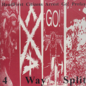Compilation - 4 Way Split - Compact Disc on Round Flat Records