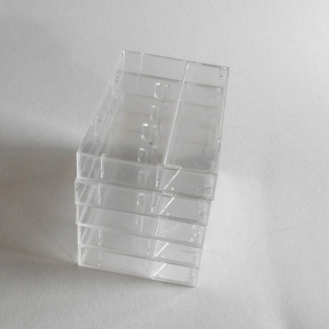 25 Clear Cassette Cases