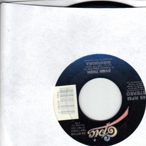 Hiroshima - 311 - 7 inch vinyl