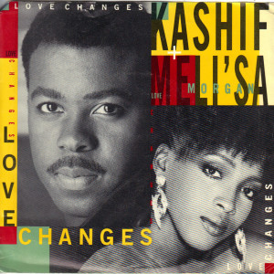 Kashif and Meli'sa - Love Changes - 7 Inch vinyl