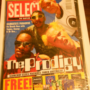 Select Magazine April 1996 with 8 Huge Posters