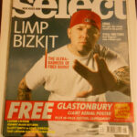 Select Magazine August 2000 with Free Glastonbury Poster
