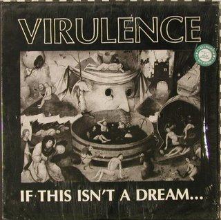Virulence - If This Isn't A Dream... - Fu Manchu cassette tape on Alchemy Records 1989