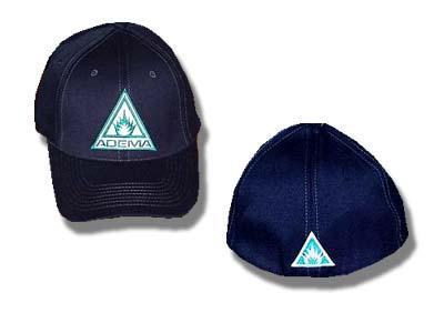 Adema - Flames Logo - Black Baseball Hat
