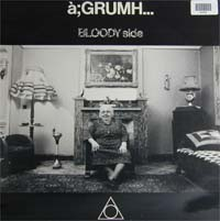 a:GRUMH - Bloody Side - Cassette tape on Wax Trax Records