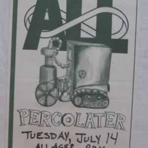 All - Percolator - 1992 tour poster