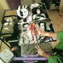 Carcass - Necroticism Descanting The Insalubrious - grindcore cassette tape on Earache Records
