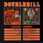 Click Click / Borghesia - Double Bill - Cassette tape on Wax Trax Records