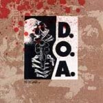 D.O.A. - Murder - Cassette tape on Restless Records
