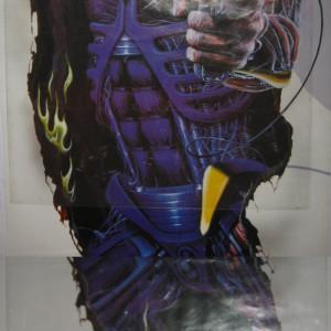 Iron Maiden - Somewhere In Time featuring Eddie - Original 1987 door poster