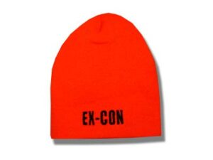 Ex-Con - Jumpsuit Orange - Beanie