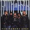 Faith Of Fear - Punishment Area - NJ thrash metal cassette on Combat Records