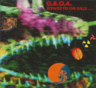 Gaye Bykers On Acid - Stewed To The Gills - Cassette tape on Caroline RecordsGaye Bykers On Acid - Stewed To The Gills - Cassette tape on Caroline Records