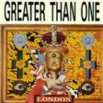 Greater Than One - London - Double vinyl LP on Wax Trax Records