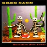 Greg Sage Of The Wipers - Sacrifice For Love - Cassette tape on Restless Records