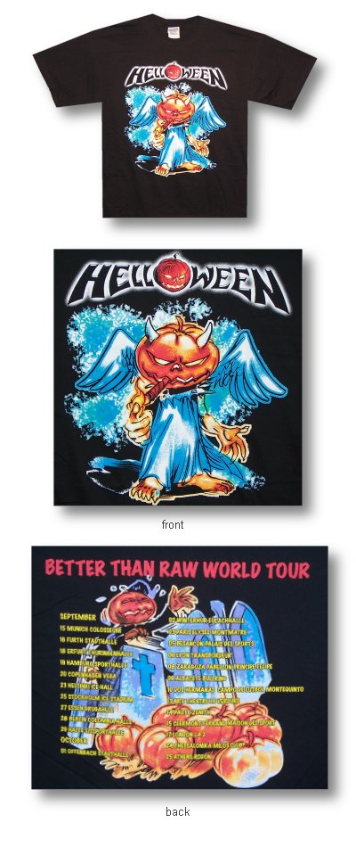 Helloween - Jack With Cigar World Tour - Concert Shirt