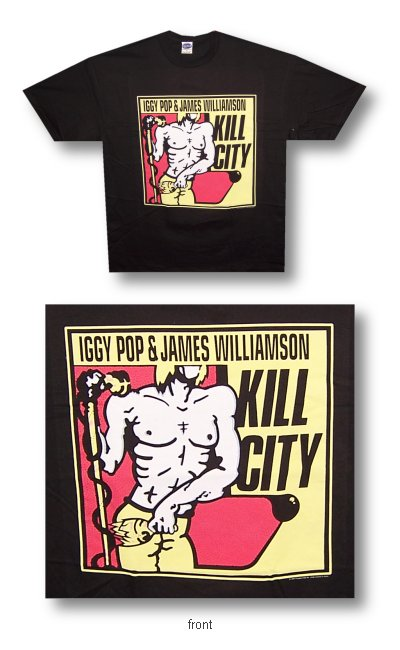 Iggy Pop - Kill City - Shirt