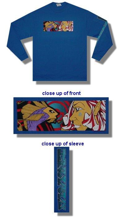 Incubus - Anime Fish - Long Sleeve Shirt