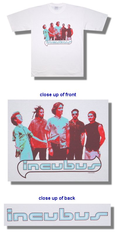Incubus - Warning - Shirt