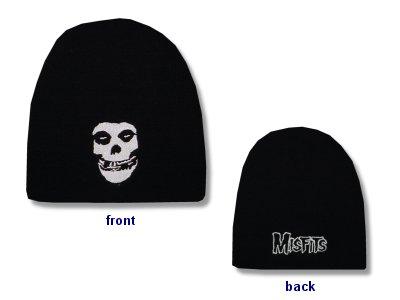 The Misfits - Skull - Black Beanie
