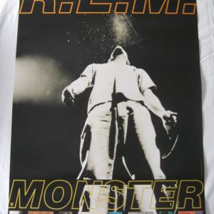 REM - Monster - 1994 Retail promo poster