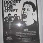 Rocket From The Crypt - Scream, Dracula, Scream! - 1995 Tour Poster
