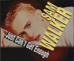 "Sam Walker - Just Can't Get Enough - 12"" Vinyl Record on ZYX Music"