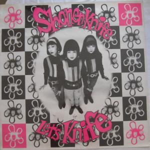 Shonen Knife - Let's Knife - 1993 record store promo poster