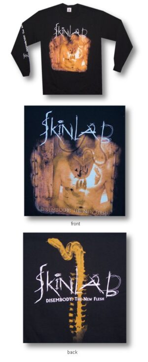 Skinlab - Disembody The New Flesh - Long Sleeve Shirt