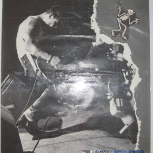 Social Distortion - Mike Ness Live - 1990 Record Store Promotional Poster