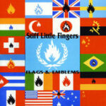 Stiff Little Fingers - Flags And Emblems - Cassette tape on Castle Records