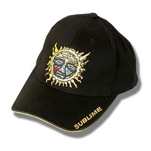 Sublime - Burning Sun Logo - Baseball Hat