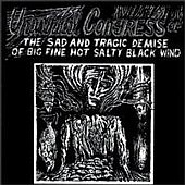 Universal Congress Of - Salty Black Wind - Cassette tape on Enemy Records