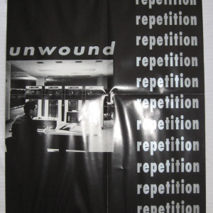 Unwound - Repetition - 1996 Kill Rock Stars Record Store Promo Poster