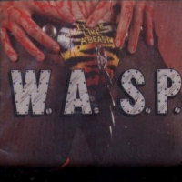 WASP - Live . . . Animal - Cassette on Restless Records 1987
