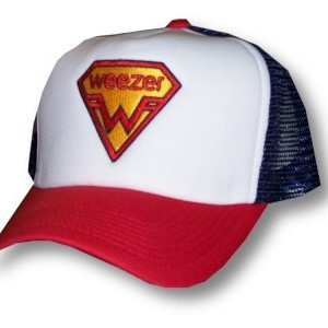 Weezer - Superman Shield Logo - Baseball Hat
