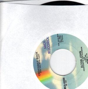 Elton John - Crocodile Rock - 7 inch vinyl