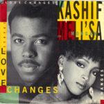 Kashif and Meli'sa - Love Changes - 7 Inch vinyl