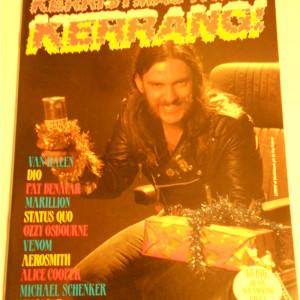 Kerristmas Kwizz Kerrang! Magazine Number 1 1994