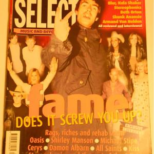 Select Magazine April 1999 UK Import
