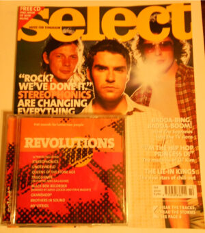 Select Magazine October 2000 with FREE 13 Track CD
