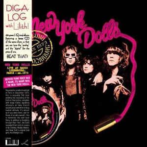 NEW YORK DOLLS – LIVE AT RADIO LUXEMBOURG PARIS 1973